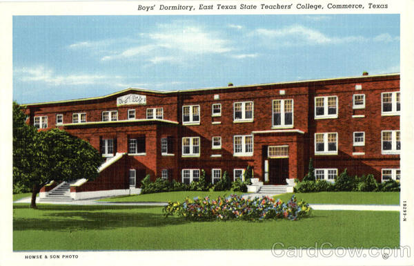 Boys' Dormitory, East Texas State Teachers College Commerce