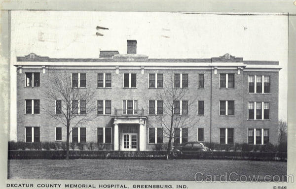 Decatur County Memorial Hospital Greensburg Indiana