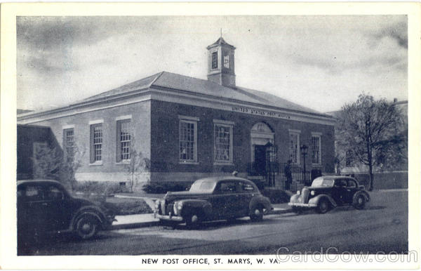 New Post Office St. Marys West Virginia