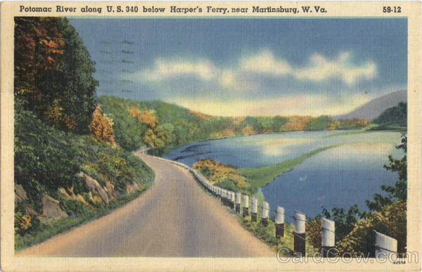 Potomac River, Harpers Ferry Martinsburg West Virginia