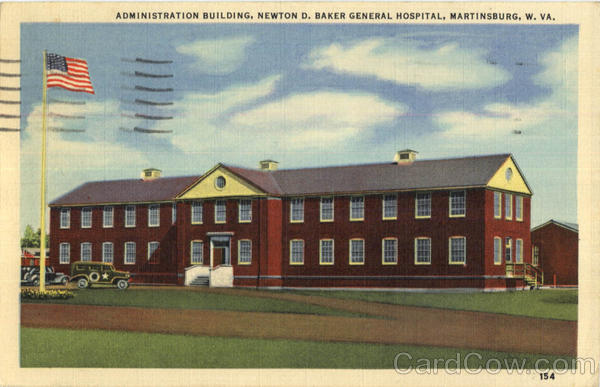 Administration Building Newton D. Baker General Hospital Martinsburg West Virginia