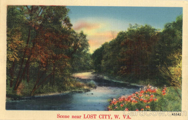 Scene Near Lost City West Virginia