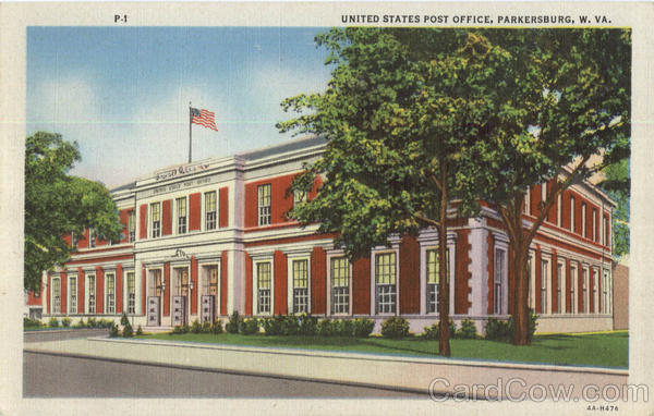 United States Post Office Parkersburg West Virginia