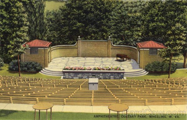 Amphitheatre, Oglelbay Park Wheeling West Virginia