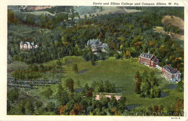 Davis And Elkins College And Campus West Virginia