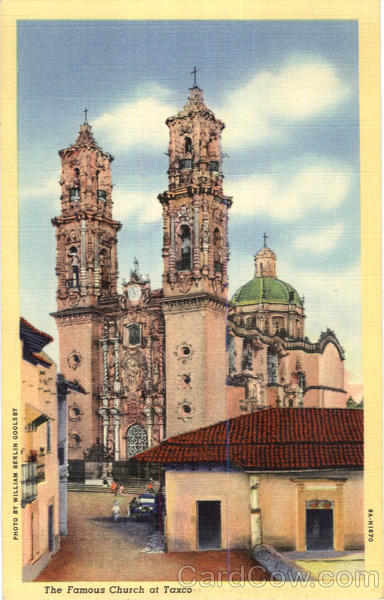 The Famous Church At Taxco Texas