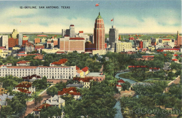 Skyline San Antonio Texas