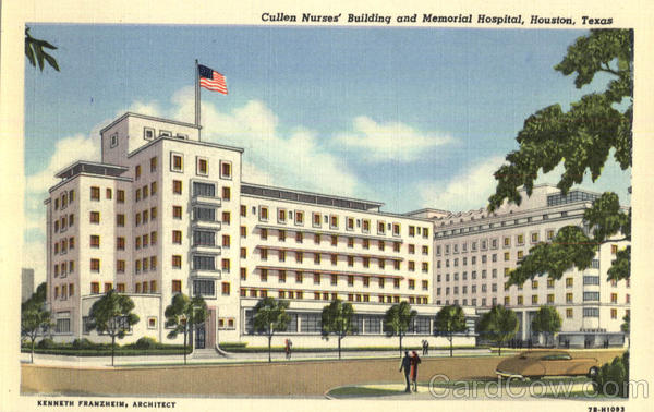 Cullen Nurses Building And Memorial Hospital Houston Texas