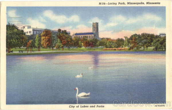 Loring Park Minneapolis Minnesota