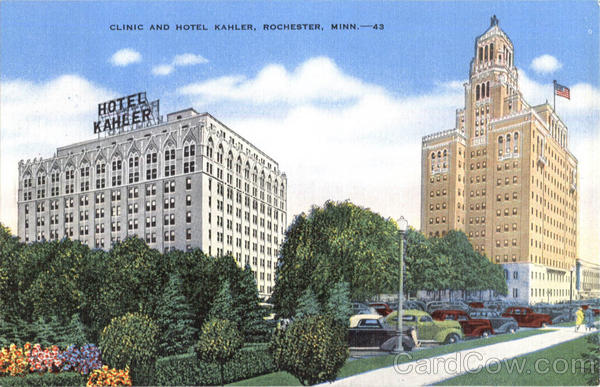 Clinic And Hotel Kahler Rochester Minnesota