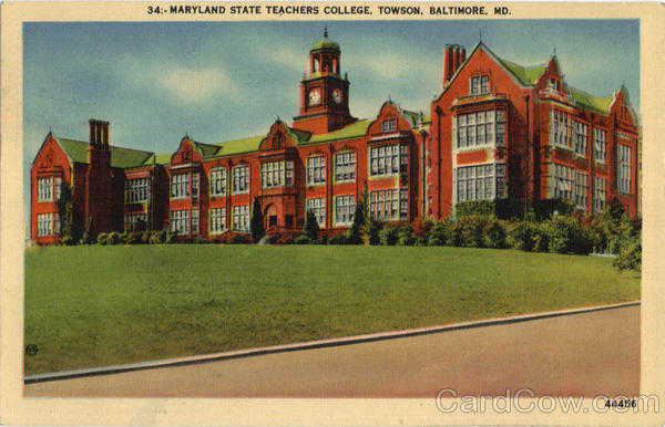 Maryland State Teachers College, Towson Baltimore