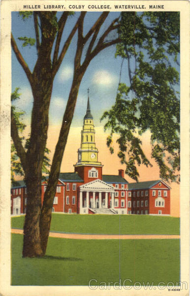 Miller Library, Colby College Waterville Maine