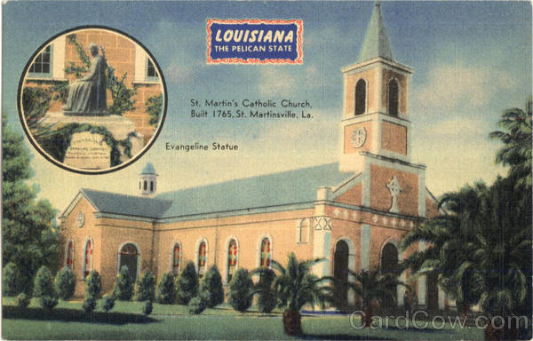 Louisiana The Pelican State Martinsville