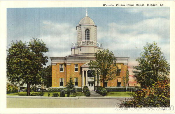 Webster Parish Court House Minden Louisiana
