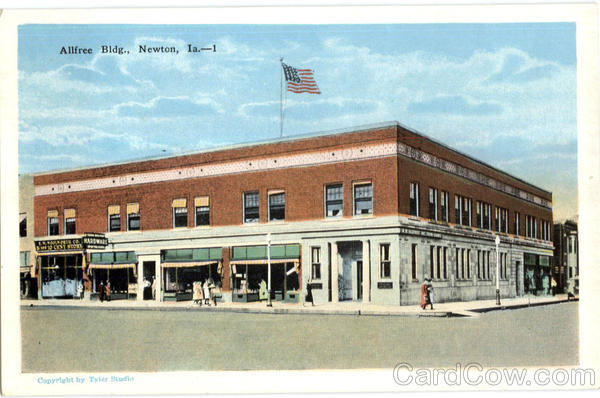 Allfree Bldg Newton Iowa