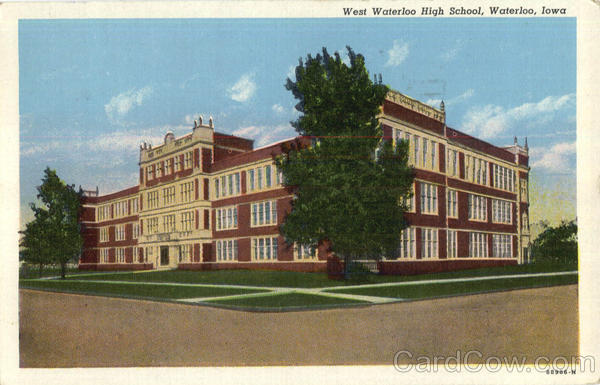 West Waterloo High School Iowa
