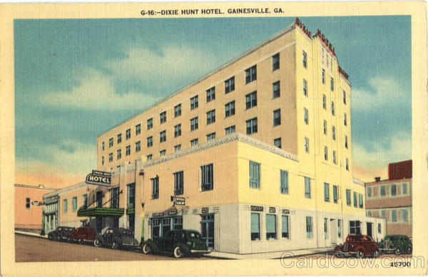 Dixie Hunt Hotel Gainesville Georgia