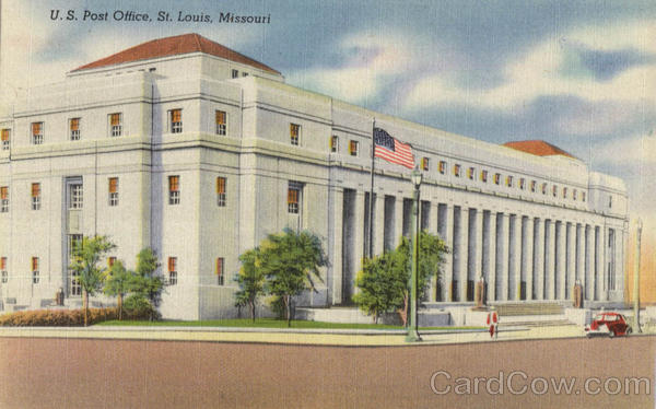 U. S. Post Office And Federal Building, M St. Louis Missouri