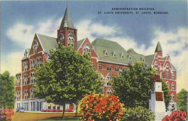 Administration Building , St. Louis University Missouri
