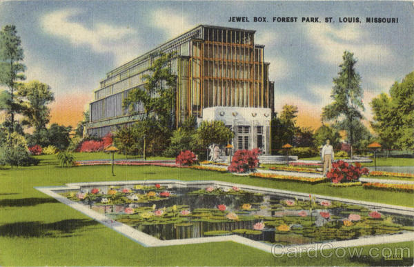 Jewel Box, Forest Park St. Louis Missouri