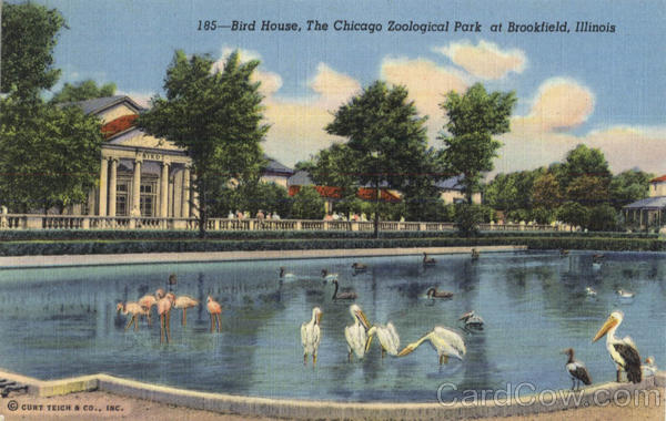 Birds House, Chicago Zoological Park Brookfield Illinois