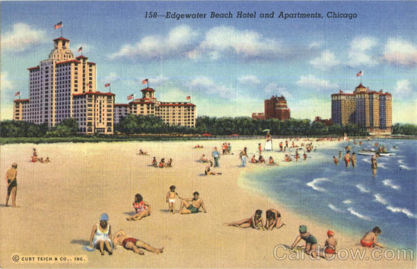 Edgewater Beach Hotel And Apartments Chicago Illinois