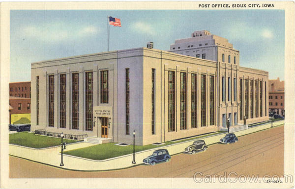 Post Office Sioux City Iowa