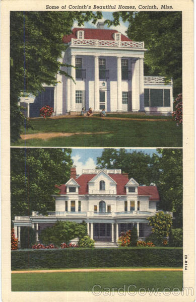 Some Of Corinth's Beautiful Homes Mississippi
