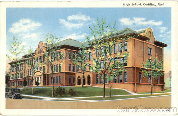 High School Cadillac Michigan