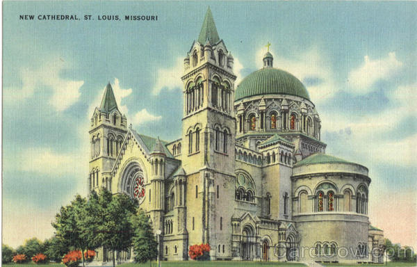 New Cathedral St. Louis Missouri