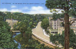 Hot Springs Postcard