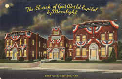 The Church Of God World Capitol By Moonlight, Bible Place