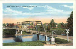 Vine Street Bridge Postcard