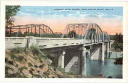 Current River Bridge Postcard