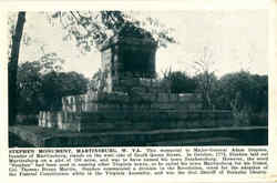 Stephen Monument Postcard