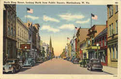 North King Street Postcard
