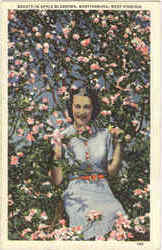 Beauty In Apple Blossoms Postcard