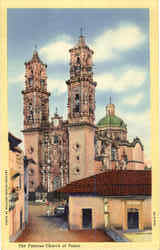 The Famous Church At Taxco