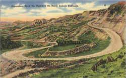 Horseshoe Bend On Highway 85