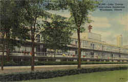 Lake County Tuberculosis Sanitarium Postcard