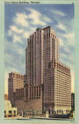Civic Opera Building Postcard
