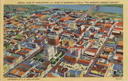 Aerial View Of Shreveport