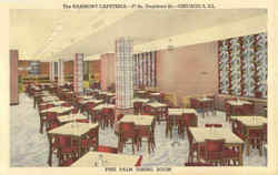 The Harmony Cafeteria, 27 So. Dearborn St Postcard