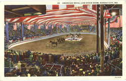 American Royal Live Stock Show Postcard