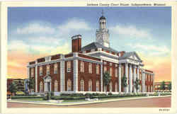 Jackson County Court House Postcard