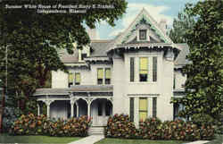 Summer White House Of President Harry S. Truman Postcard