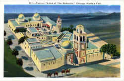 Tunisia Land Of The Bedouins Chicago World's Fair Postcard