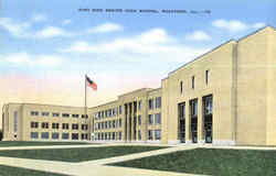 East Side Senior High School Postcard