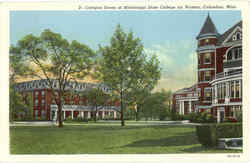 Campus Scene, Mississippi State College For Women