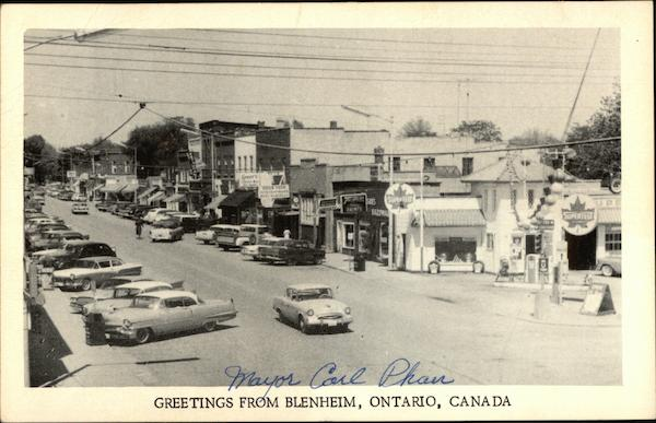 Greetings from Blenheim - Street View Canada Ontario